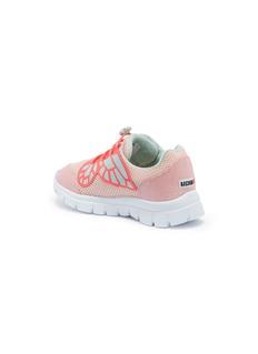 Sophia Webster 'Chiara Mini' butterfly appliqué mesh toddler sneakers