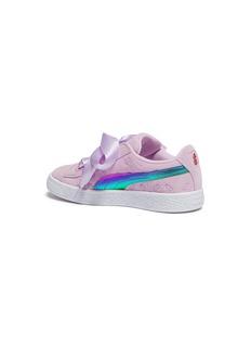 Puma x Minions® 'Suede Heart Fluffy' kids sneakers