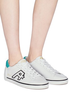 Ash 'Net' logo patch leather sneakers