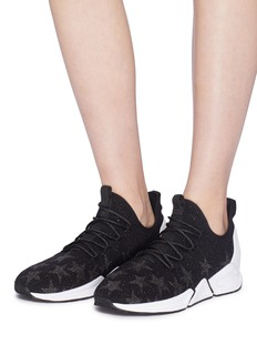 Ash 'Thyra' star jacquard knit sneakers