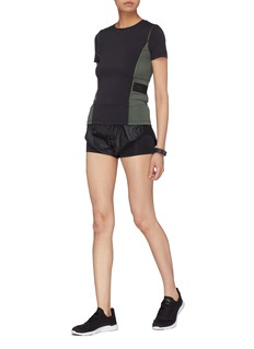 Particle Fever Mesh outseam layered Particle Noofuu running shorts