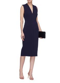 Rebecca Vallance 'Mimosa' V-neck dress