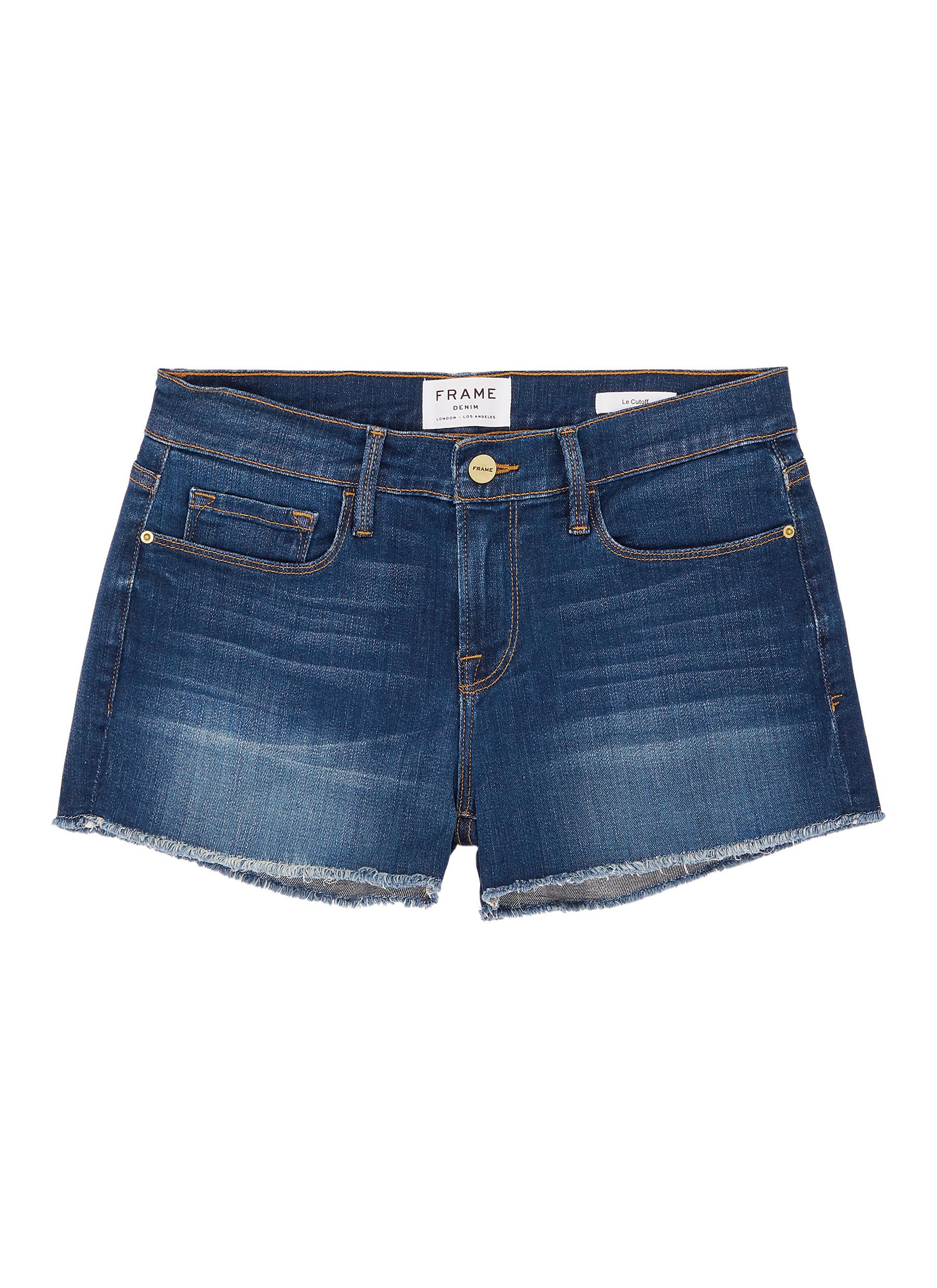 Buy Frame Denim Jeans 'Le Cut Off Williams' raw edge cuff denim shorts
