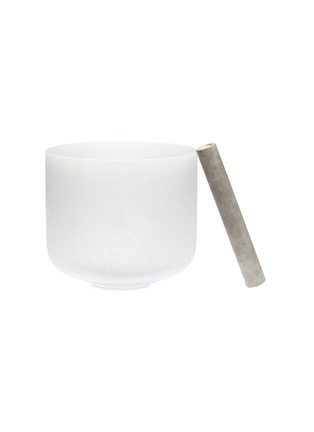 Main View - Click To Enlarge - LANE CRAWFORD - x Stoned Crystals medium crystal singing bowl