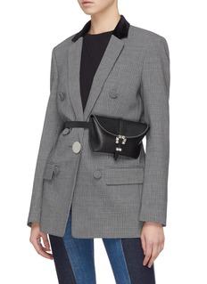 3.1 Phillip Lim 'Hudson' jewelled buckle leather bum bag