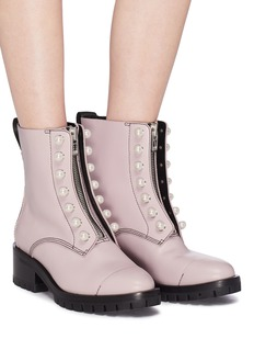 3.1 Phillip Lim 'Hayett' faux pearl leather ankle boots
