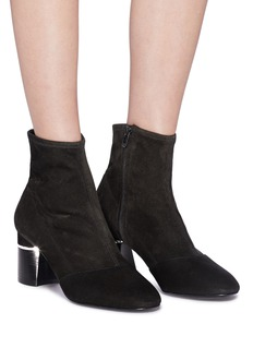 3.1 Phillip Lim 'Drum' suede ankle boots
