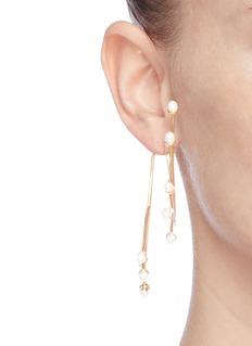 Ellery 'Rarig' pearl twist branch earrings