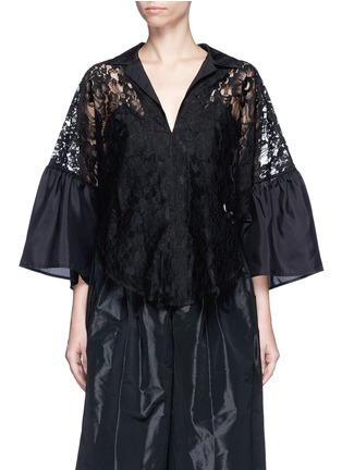 Main View - Click To Enlarge - Tome - Floral lace blouse