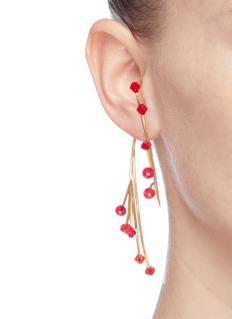 Ellery 'Rarig' beaded twist branch earrings