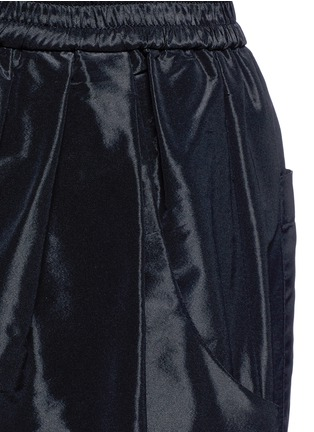 Detail View - Click To Enlarge - Tome - Taffeta belted karate pants