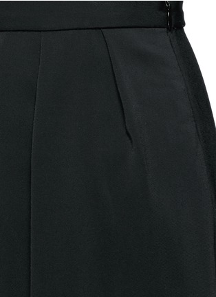 Detail View - Click To Enlarge - ROSETTA GETTY - Pleat front harem pants