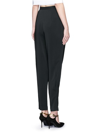 Back View - Click To Enlarge - ROSETTA GETTY - Pleat front harem pants