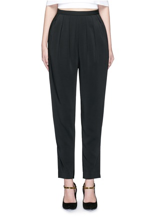 Main View - Click To Enlarge - ROSETTA GETTY - Pleat front harem pants