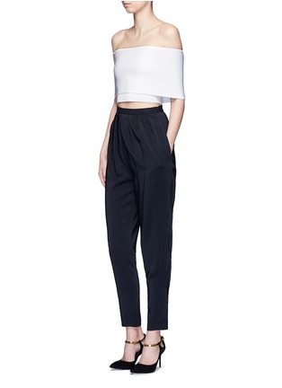 Figure View - Click To Enlarge - Rosetta Getty - Pleat front harem pants