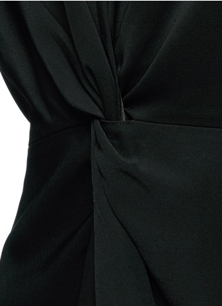 Detail View - Click To Enlarge - Rosetta Getty - Twist knot front kimono dress