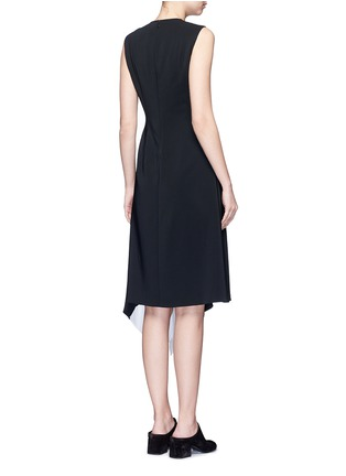 Back View - Click To Enlarge - Rosetta Getty - Asymmetric godet hem dress