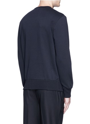 Back View - Click To Enlarge - Alexander McQueen - Skull moth embroidery sweatshirt