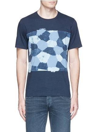 Main View - Click To Enlarge - Denham - 'D-VII Camo' print cotton T-shirt