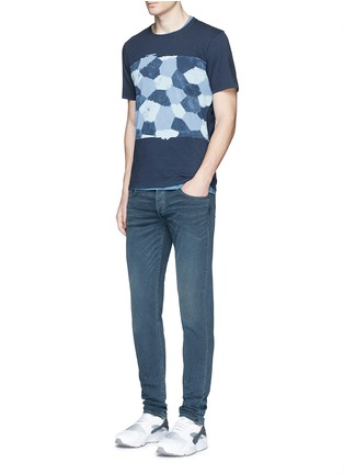 Figure View - Click To Enlarge - Denham - 'D-VII Camo' print cotton T-shirt
