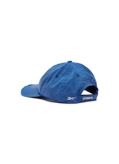 Vetements x Reebok 'Weekday' slogan embroidered distressed baseball cap