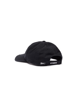 Figure View - Click To Enlarge - Vetements - x Reebok 'Weekday' slogan embroidered distressed baseball cap
