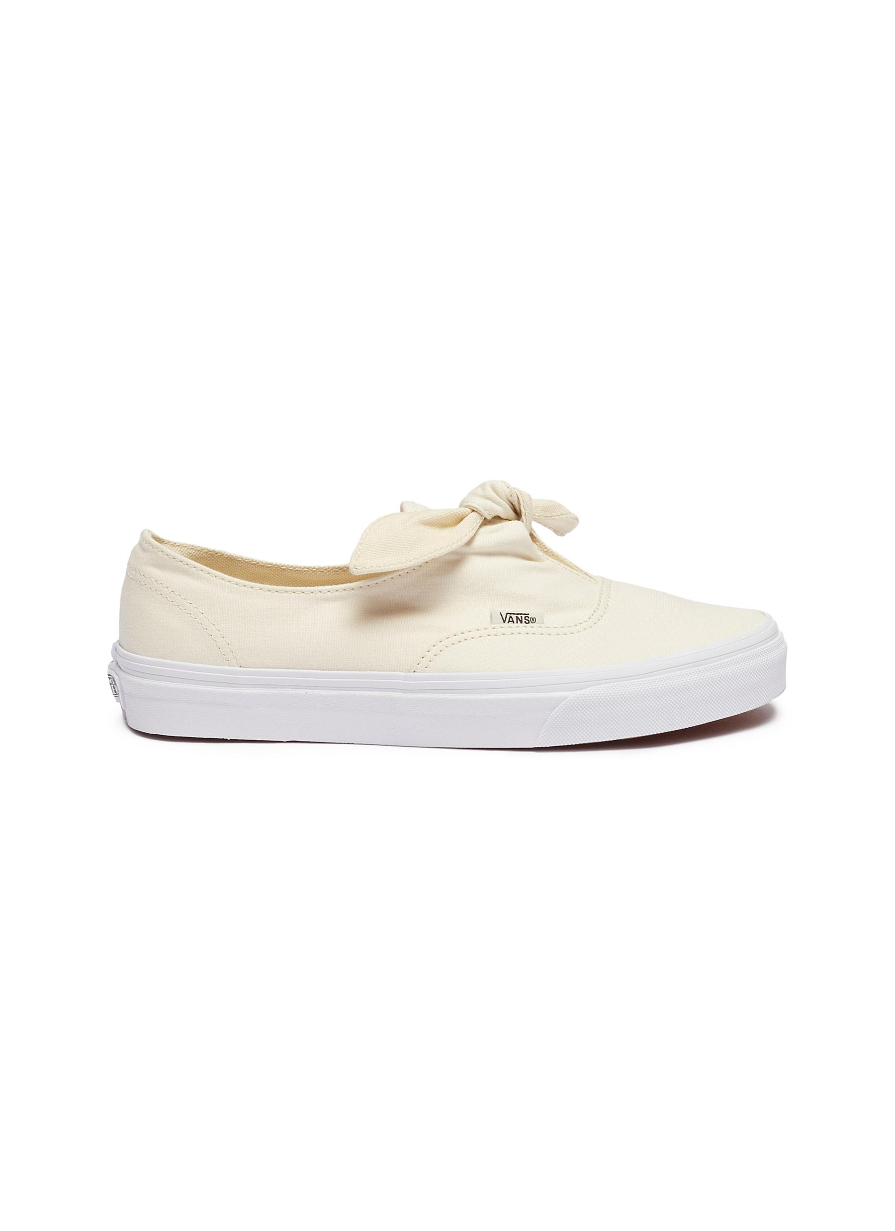Authentic Knotted canvas skate slip-ons by Vans