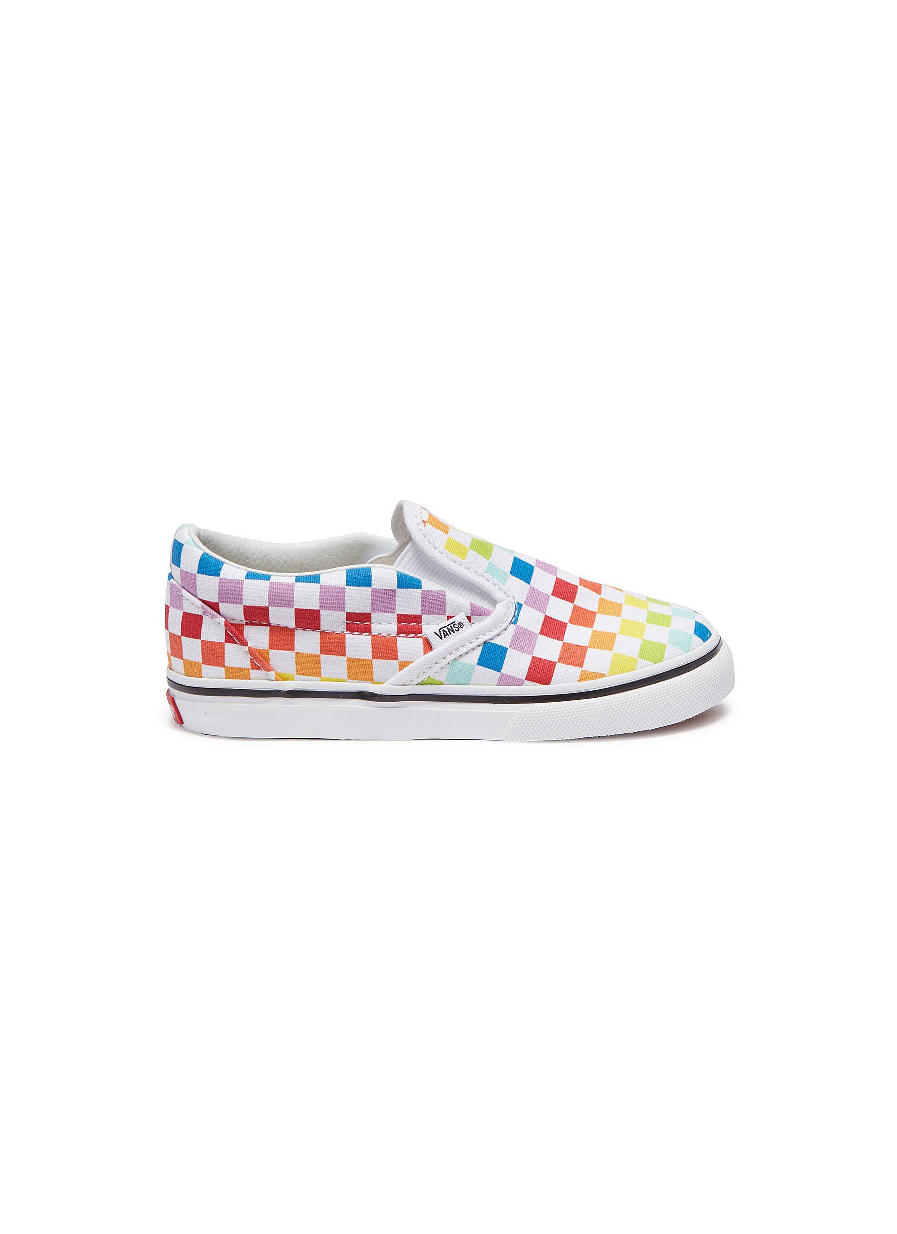 Vans Checkerboard Shirt Rainbow RLDM  RLDM