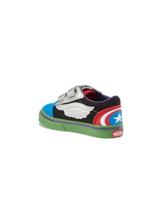 Vans x Marvel 'Old Skool' Avengers print toddler sneakers