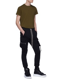 Rick Owens Panelled shoulder T-shirt