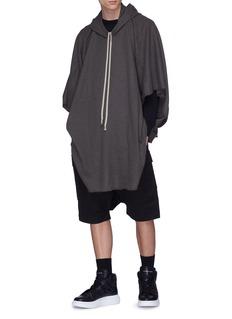 Rick Owens Oversized cashmere poncho