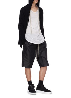 Rick Owens Drop crotch cropped jogging pants