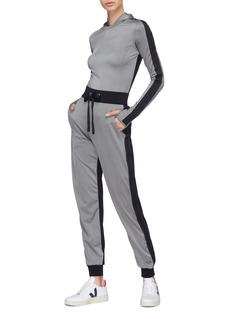No Ka'Oi 'Mahina Pana' colourblock performance jogging pants