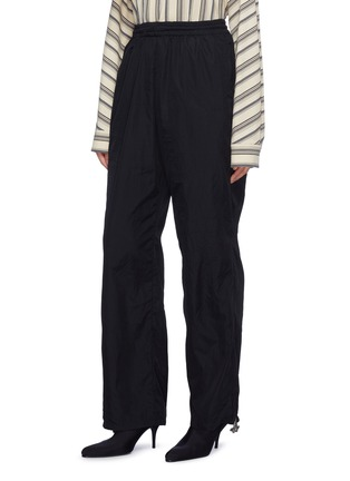 Front View - Click To Enlarge - Vetements - 'Angel' zip cuff pull unisex track pants