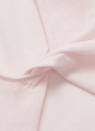 - Dion Lee - Asymmetric twist sleeve Merino wool sweater