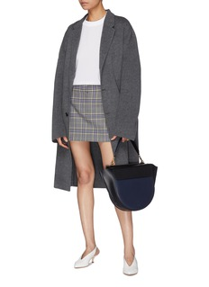 Tibi Tartan plaid skirt
