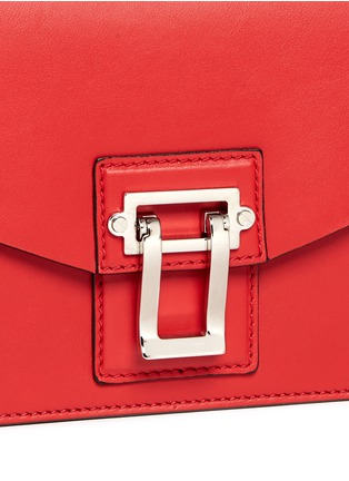 Detail View - Click To Enlarge - Proenza Schouler - 'Hava Chain' flap leather bag