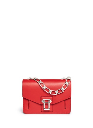 Main View - Click To Enlarge - Proenza Schouler - 'Hava Chain' flap leather bag