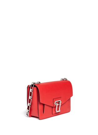 Figure View - Click To Enlarge - Proenza Schouler - 'Hava Chain' flap leather bag