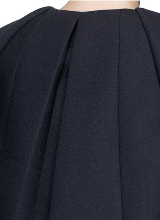 Detail View - Click To Enlarge - DICE KAYEK - Made-to-Order<br/><br/>'Jumbo' ruffle pleat crepe cape