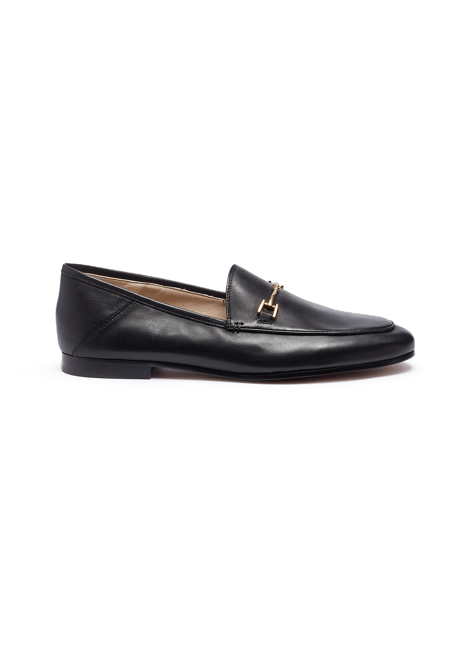 Sam Edelman Flats Loraine horsebit leather step-in loafer