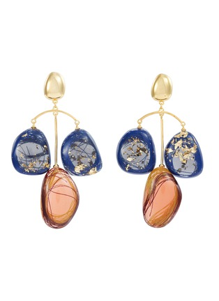 Main View - Click To Enlarge - Ejing Zhang - 'Patter' chandelier earrings