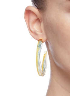 Ejing Zhang 'Scilla' hoop earrings
