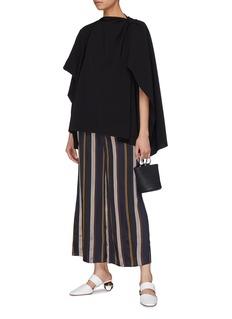 Rosie Assoulin Asymmetric cape top