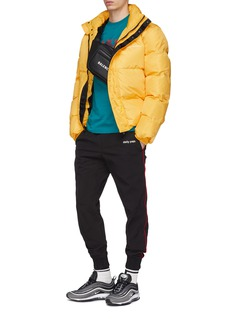 Daily Paper Logo print down puffer jacket