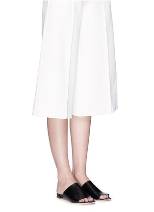 Figure View - Click To Enlarge - Mansur Gavriel - Leather flat mules