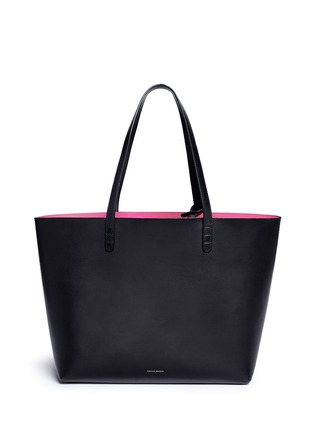 Main View - Click To Enlarge - Mansur Gavriel - Large leather tote with contrast lining