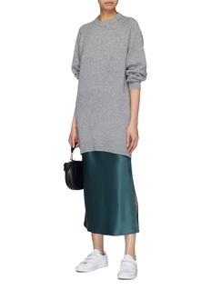 Theory Cashmere oversized sweater dress