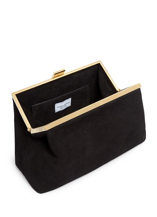 Detail View - Click To Enlarge - Mansur Gavriel - Volume' suede clutch