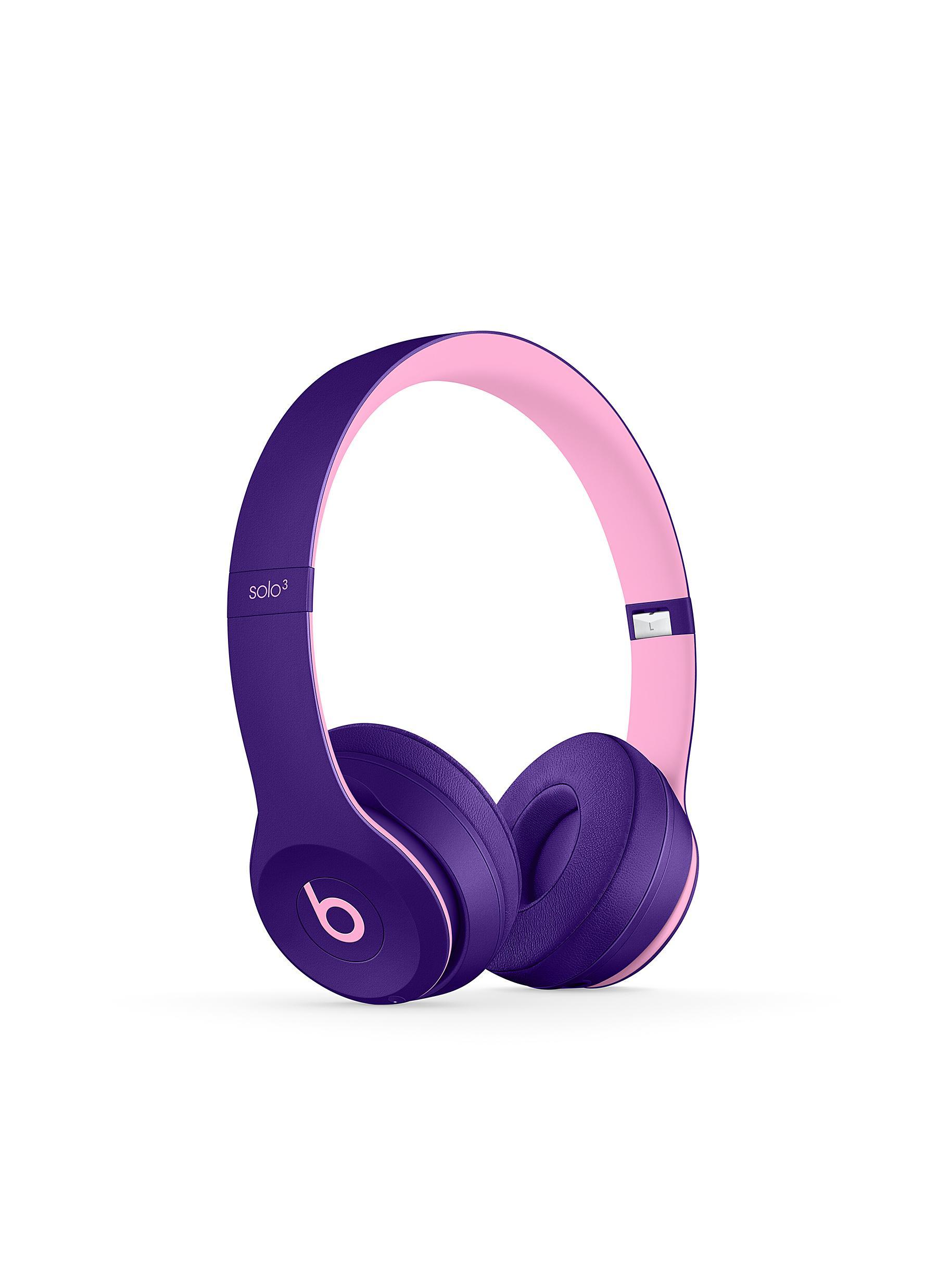 Beats. Solo³ wireless on-ear headphones – Pop Violet c42a12fc38